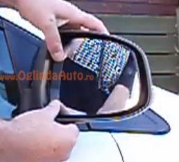 Cum se demonteaza o sticla de oglinda auto