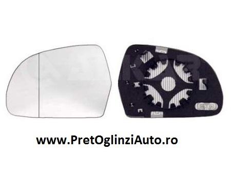 Pret geam oglinda stanga Audi A5 2007-prezent