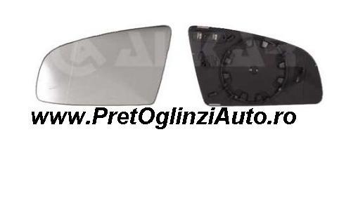 Pret geam oglinda stanga Audi A3 1994-prezent