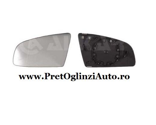 Pret geam oglinda stanga Audi A3 2003-prezent