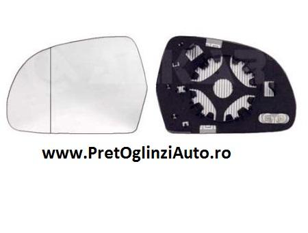Pret geam oglinda stanga Audi A4 B8 2007-prezent