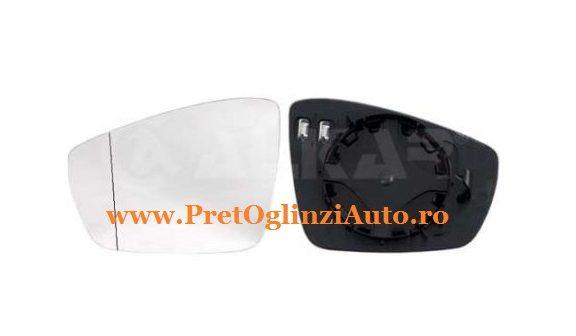 Pret geam oglinda dreapta VW Polo 2009-prezent