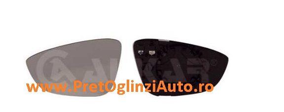 Pret geam oglinda dreapta VW JETTA 4 2010-2014