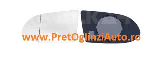 Pret geam oglinda dreapta Opel Zafira 1999-2005