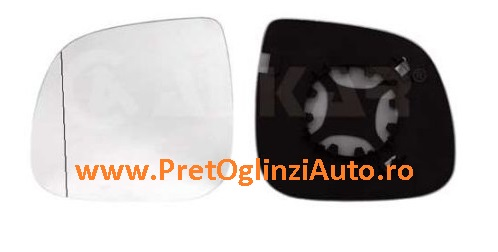 Pret geam oglinda dreapta VW Amarok 2010-2014