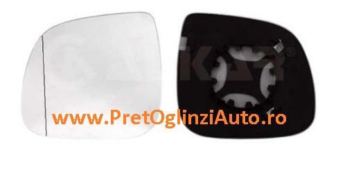 Pret geam oglinda stanga VW Amarok 2010-2014