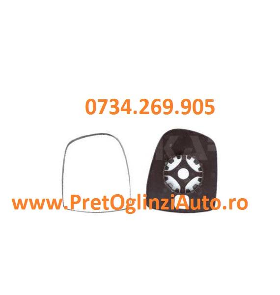 Pret geam oglinda dreapta Opel Vivaro 2001-2014