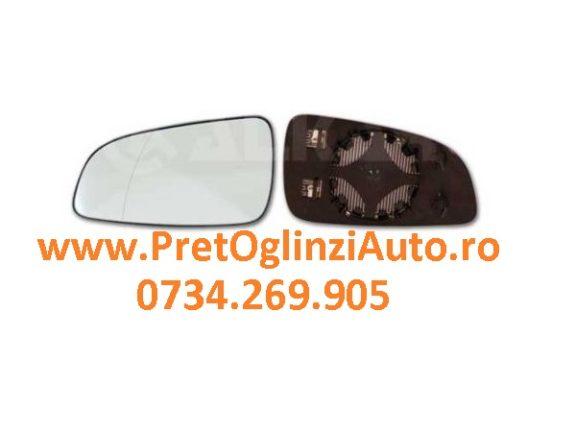 Geam oglinda dreapta Opel Astra 2004-2014