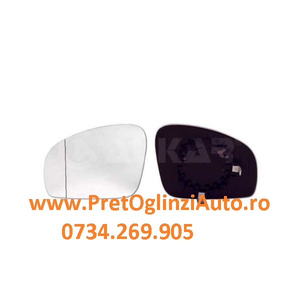 Pret Geam oglinda dreapta Skoda Fabia 2006-2014