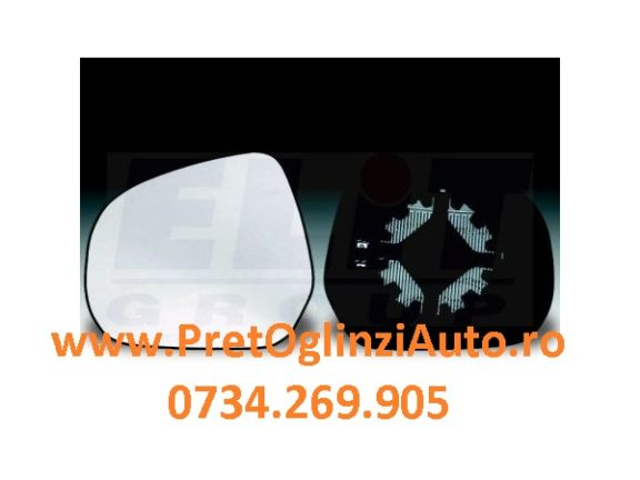 Geam oglinda stanga Opel Agila 2008-2014