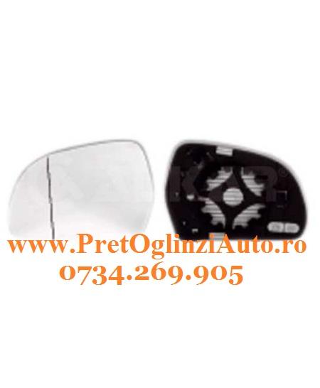 Pret Geam oglinda dreapta Skoda Superb 2008-2014