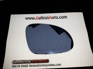 Oglinda cu dezaburire dreapta VW Golf 5 doar geamul