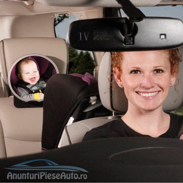 Oglinda ajutatoare scaun bebelus