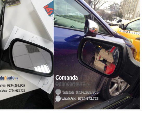 Oglinzi cu forme diferite pe Ford Fiesta
