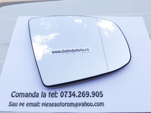 Geam oglinda dreapta cu incalzire BMW X6 2008-2014
