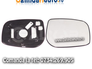 Sticla oglinda dreapta cu incalzire Toyota Avensis 2003-2006