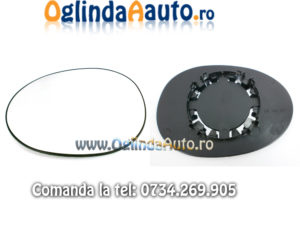 Sticla oglinda stanga sofer Peugeot 107