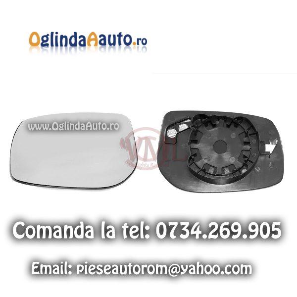 Sticla oglinda stanga cu incalzire Toyota Auris 2006-2011
