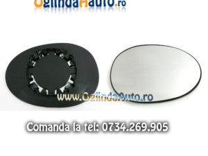 Geam oglinda dreapta Peugeot 107