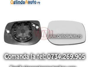 Geam oglinda dreapta Toyota Auris 2006-2011