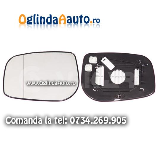 Geam oglinda stanga cu incalzire Toyota Avensis 2005-2008