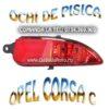 Reflectorizant bara spate dreapta Opel Corsa C 2004-2010