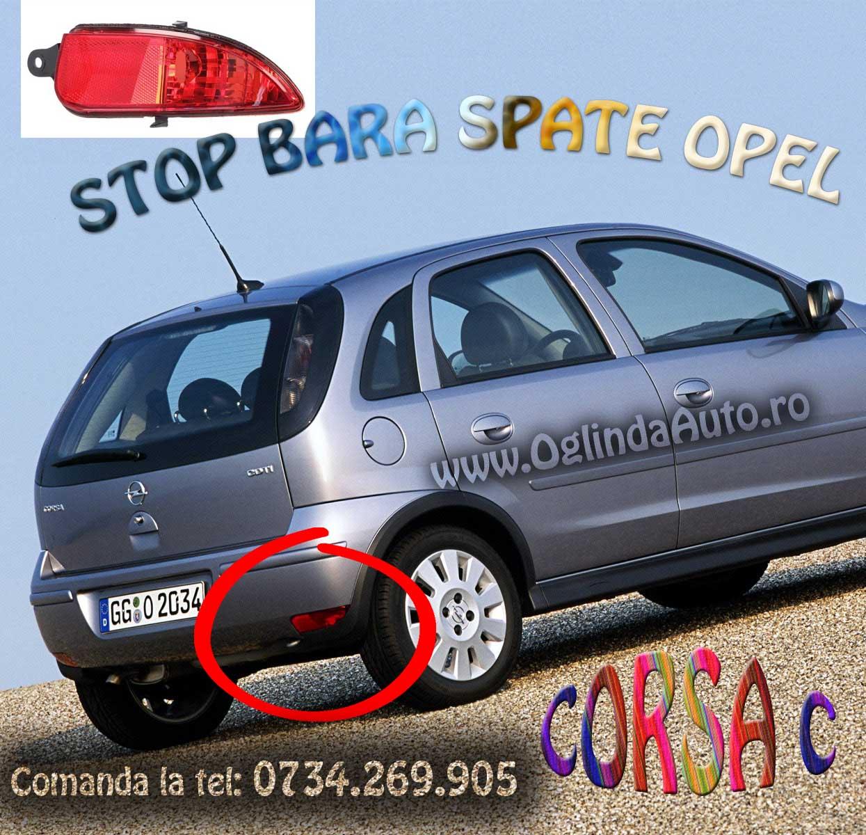 Catadioptru bara spate dreapta Opel Corsa C 2004-2010