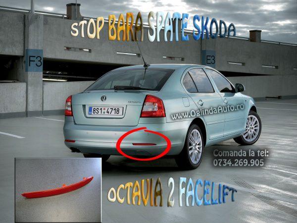 Ochi de pisica bara spate dreapta Skoda Octavia 2 Facelift