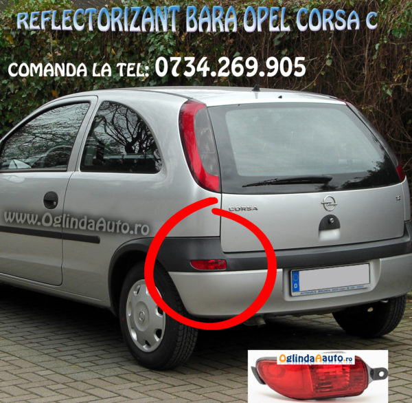 Ochi de pisica stanga Opel Corsa C 2000-2003