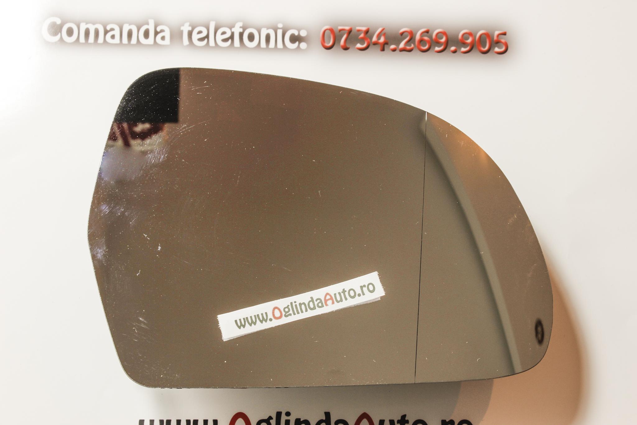 Sticla oglinda dreapta Skoda Octavia II Facelift an 2009-2013