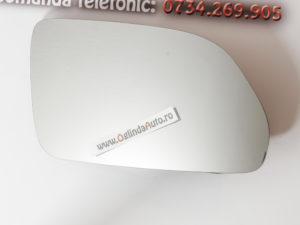 Sticla oglinda dreapta cu incalzire Skoda Octavia II an 2004-2008
