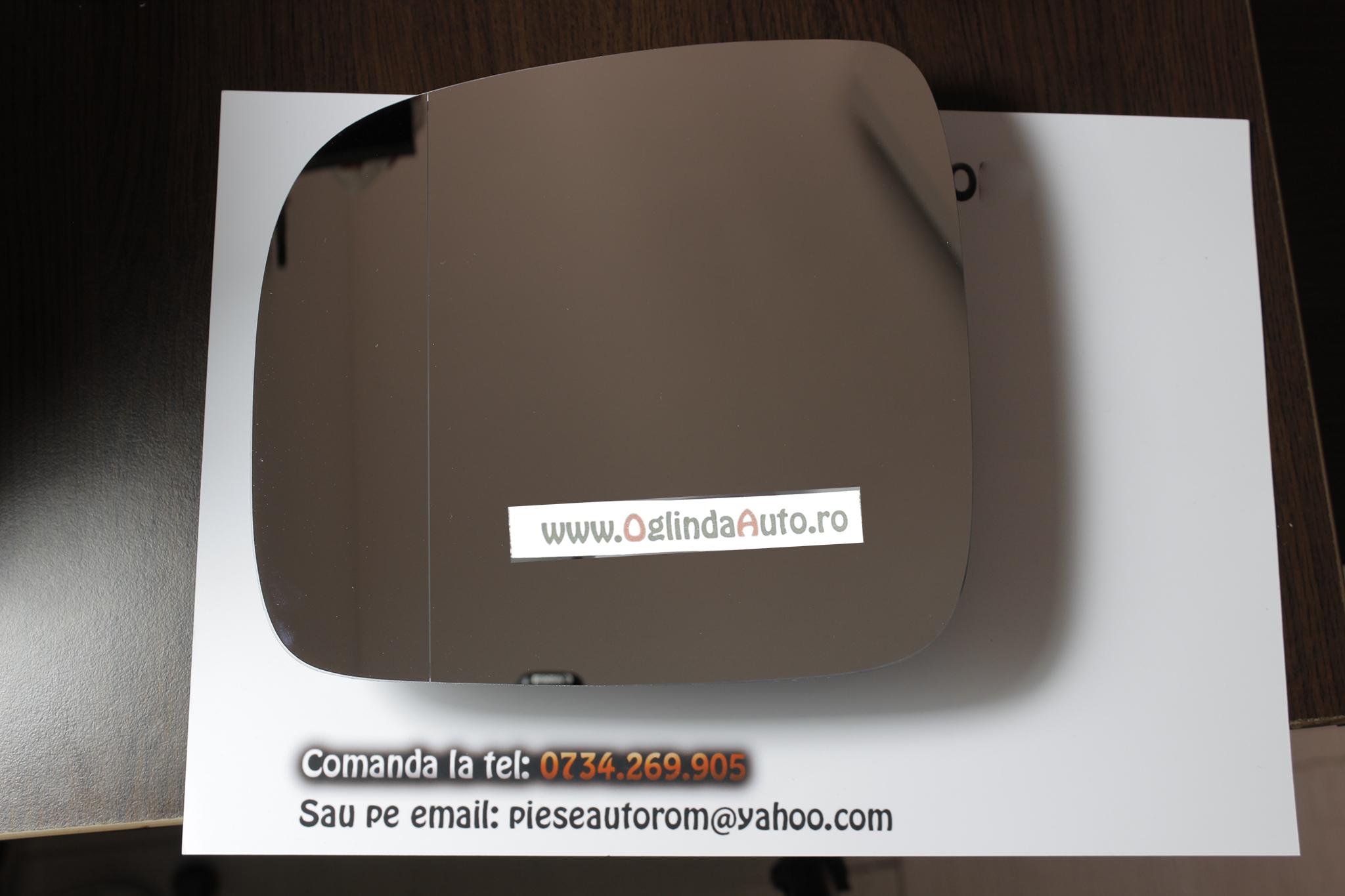Sticla oglinda stanga VW Caddy 2004-2015