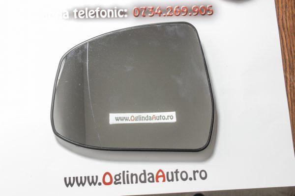 Geam oglinda stanga cu incalzire Ford Focus III anul 2011-2016