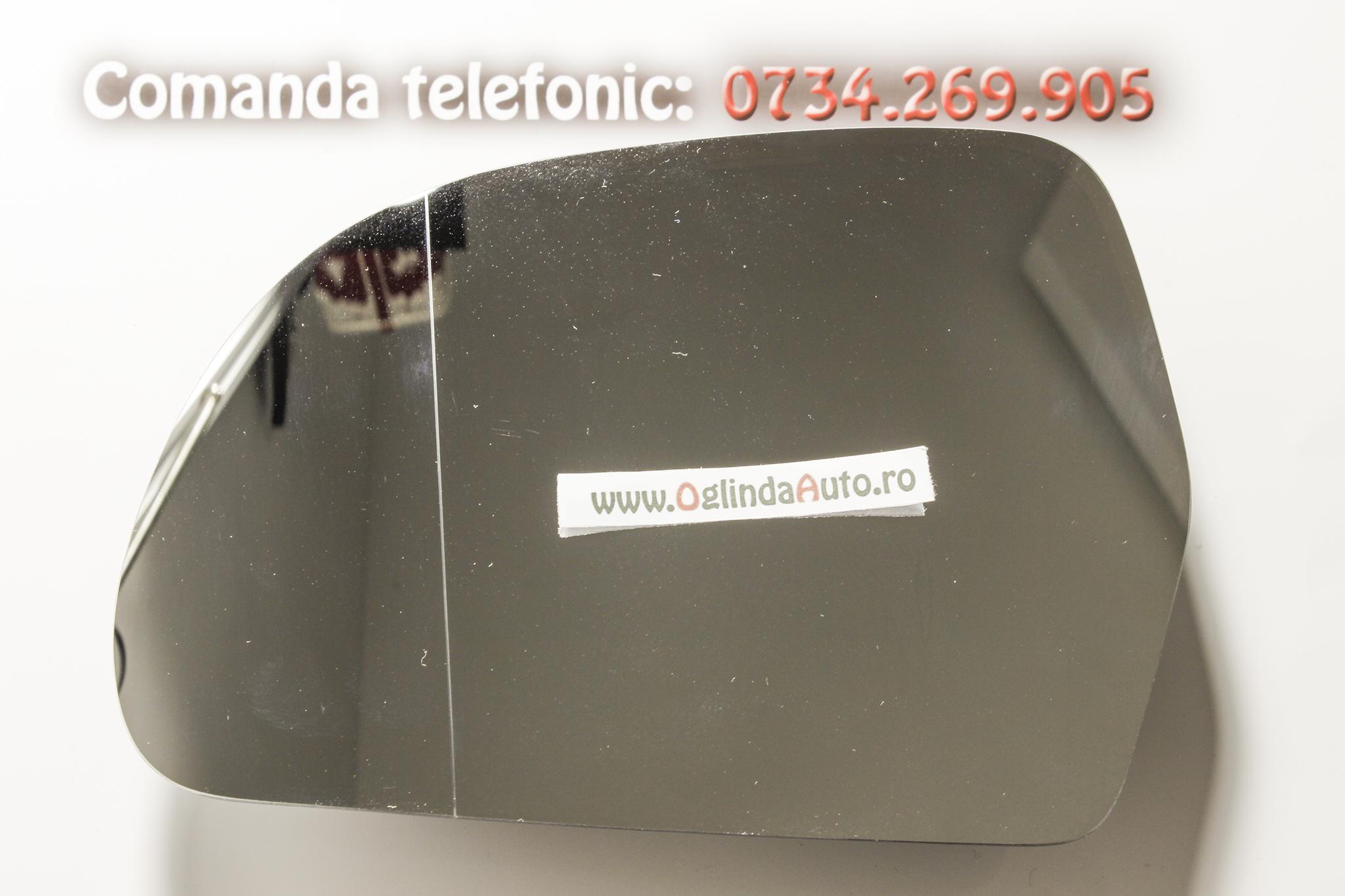 Geam oglinda stanga cu incalzire Skoda Octavia II Facelift an 2009-2013