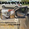 Oglinda tractare rulota remorca Skoda Octavia mk3