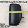 Capac carcasa oglinda stanga spate neagra partea soferului pentru Mercedes Sprinter an fabricatie 2006, 2007, 2008, 2009, 2010, 2011, 2012, 2013, 2014, 2015, 2017 si 2018.