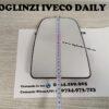 Geam sticla oglinda mare partea de sus dreapta pasager cu incalzire pentru Iveco Daily 6 VI modelul nou cu semnal lungit pe carcasa fabricat in anul 2014, 2015, 2016, 2017, 2018, 2019 si 2020.