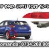 Stop bara spate sau ochi de pisica stanga partea soferului cu bec de ceata in el pentru Ford Focus Mk3 III Facelift an fabricatie 2014, 2015, 2016 si 2017.