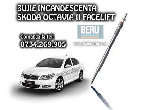Bujii Skoda Octavia 2 II Facelift motor 1.6 TDi cu 77 kw sau 105 cai putere pe motorina cod bujie Beru Germany 112 si 266 020 BEO VW-AG 059963319J fabricata in anul 2009, 2010, 2011, 2012 si 2013.
