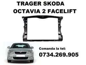 Trager sau tragar bara fata Skoda Octavia 2 Facelift motoare compatibile 1.2, 1.4, 1.6, 1.8, 2.0 si 1.9 benzina, motorina sau LPG/GPL an fabricatie 2009, 2010, 2011, 2012, 2013.