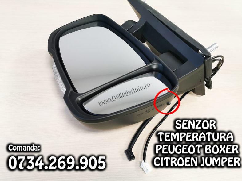 Oglinda cu senzor de temperatura Peugeot Boxer si Citroen Jumper