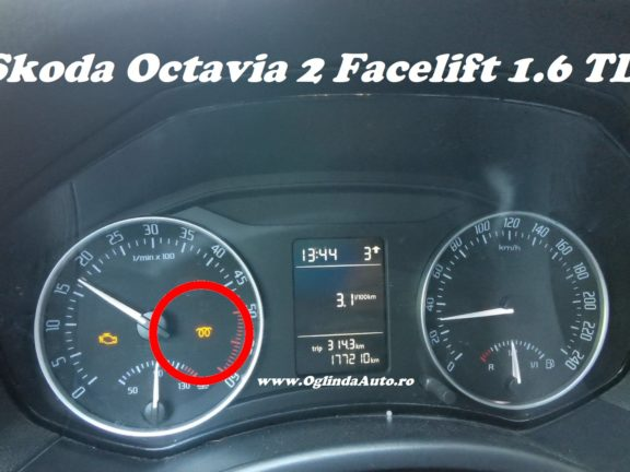 Martor spirala galben Octavia 2 FL 1.6 motorina