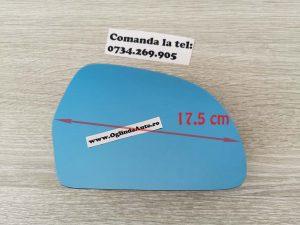 Sticla oglinda Skoda Octavia 2 II Facelift heliomat dreapta