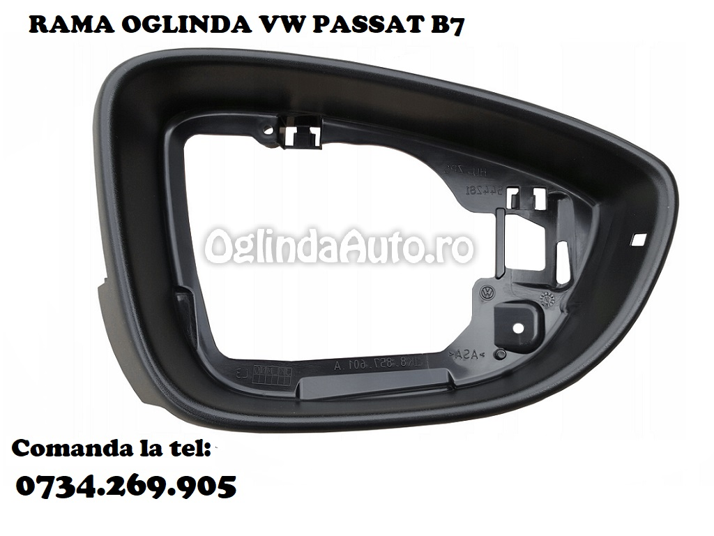Rama carcasa oglinda VW Passat B7 stanga 2010-2015