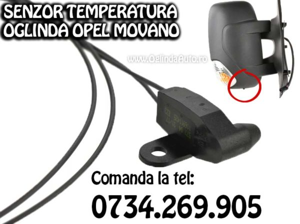 Temometru caldura Opel Movano