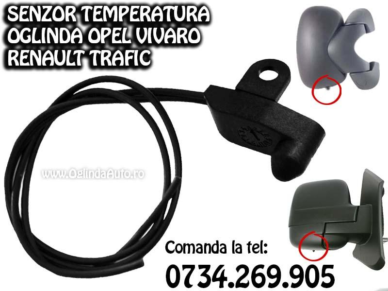 Termometru vreme exterioara Opel Vivaro si Renault Trafic
